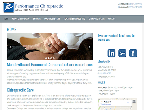 Performance Chiropractic AMR
